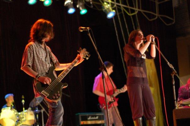 Концерт пам'яті рок музикантів.... виконували ми пісні Янки Дягілєвої